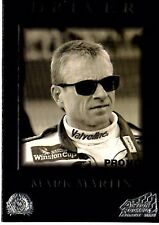 1996 Action Packed Mark Martin Embossed Promo Card