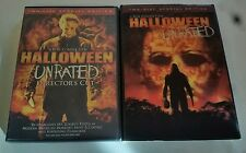 Halloween (DVD 2007 2-Disc Set Unrated Director's Cut) with its Lenticular Cover