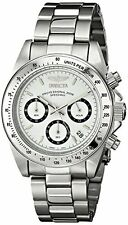 Invicta Men's Speedway Chronograph 200m Quartz  Stainless Steel Watch 9211