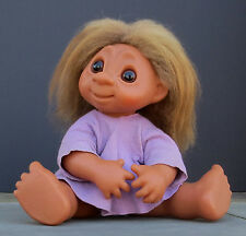 "Large (17"") ~ Adorable & Vintage ~1979 DAM TROLL Doll  (#809)"