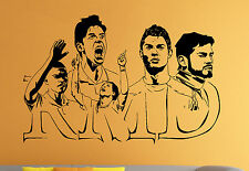 Real Madrid Wall Decal Cristiano Ronaldo Vinyl Sticker Art Home Mural Decor 1rmd