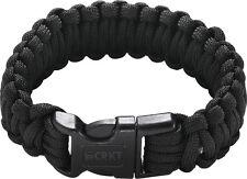 CRKT Onion Para-Saw Bracelet OD Small Black Bracelet w/ Carbide Saw 9300KS