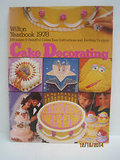 Wilton Cake Decorating Yearbooks, Lot of 5 Books