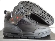 NIKE JORDAN WINTERIZED SPIZIKE (GS) BLACK SZ 5.5Y-WOMENS SZ 7 [414839-001]