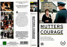 "VHS - "" Mutters COURAGE "" (1995) - George Tabori - Pauline Collins"