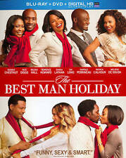 The Best Man Holiday (Blu-ray/DVD, 2014, 2-Disc Set) with Slip Cover   (B109)