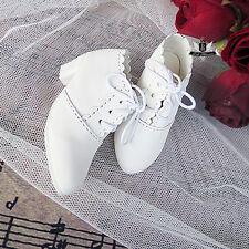1/4 BJD Shoes MSD Shoes Dollfie Lolita Shoes MID AOD Luts DOD White Shoes 0390