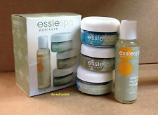 Essie Spa Pedicure Mini Kit Marine Sea Salts Foot Scrub Hydro-Masque Massage Oil