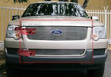 Fits 06-07 Ford Explorer Billet Grille Combo