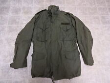 ORIGINAL VINTAGE U.S ARMY VIETNAM FIELD JACKET M65 M/L 1970 GREAT COND ALUMI ZIP