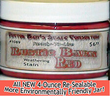Rustic Barn Red Weathering Stain-4oz Doctor Ben's FLOQUIL REPLACEMENT WOOD PR!2