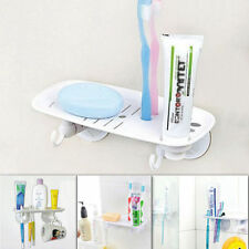 Multipurpose Super Strong Suction SOAP/TOOTHBRUSH/TOOTHPASTE/TOWEL Hanging Hook