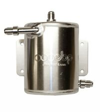 OBP Bulk Head Mount 1 Ltr Fuel Swirl Pot with JIC Fittings OBPA023J