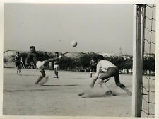 PHOTO ANCIENNE - VINTAGE SNAPSHOT - SPORT FOOTBALL MATCH ÉQUIPE ACTION - TEAM 3