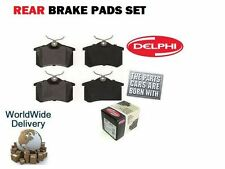 FOR VOLKSWAGEN VW GOLF 1.9 TDI 1999-2001 NEW REAR DELPHI BRAKE DISC PADS SET