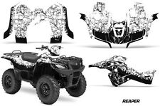 Suzuki Quad 500 AXi AMR Racing Sticker Graphic Kit Wrap Decal ATV 13-15 RPR WHIT