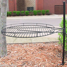 "24"" Adjustable Outdoor Fire Pit Cooking Grill Grate"