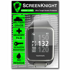 Screenknight TomTom Golfer 2/Pantalla Protector Invisible Shield militar II