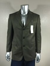 NWT COLE HAAN Men`s 100% Wool Multi-color Sport Coat Sz 40R
