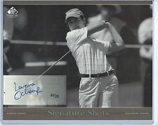 05 SP Signature Shots RARE Black White Series 8X10 Auto Card Lorena Ochoa 35/50