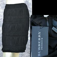 BURBERRY PRORSUM sz 42 - 8 New Womens Black Skirt Made in Italy Authentic