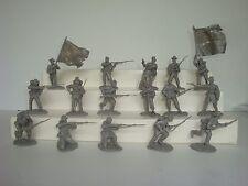 Conte  Civil War  / 16 60 mm Confederates in 16 Poses