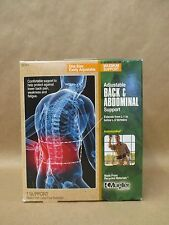 Mueller Adjustable Back Abdominal Support Green One Size Max Support