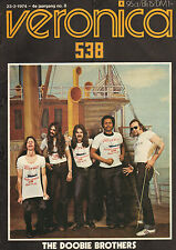 VERONICA 1974 nr. 08  -  DOOBIE BROTHERS/FRANS HALSEMA/MUD/ALBERT WEST