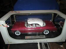 1955 CHRYSLER IMPERIAL 55 mopar CANYON 1:18 DIECAST CAR SIGNATURE MODELS 18111