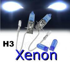 H3 55W XENON HEADLIGHT BULBS TO FIT Ford MODELS LOW / DIPPED + FREE 501'S