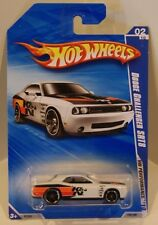 2010 Hot Wheels HW Performance '10 Dodge Challenger SRT8 White K&N Filters