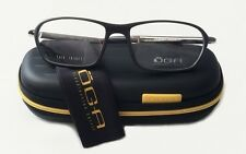 Oga Morel Eyeglasses 7191O 57/18/140 MG041 Black Gunmetal Mens Frame Case France
