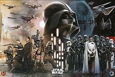 ROGUE ONE - GALAXY COLLAGE POSTER 24x36 - STAR WARS UNIVERSE 160581