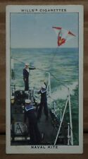 VINTAGE~WILLS~CIGARETTE~CARD~LIFE~IN~THE~ROYAL~NAVY~NAVAL~KITE~No~#~18~X1~B5