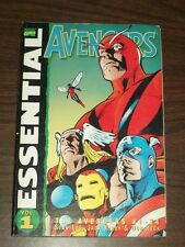 Avengers Essential Vol 1 #1-24 by Stan Lee Marvel (Paperback)  9781904159452
