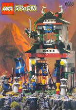 LEGO 6083 - NINJA - Samurai Stronghold - 1998 Complete w/ Manual - No Box