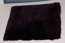 Wheelchair-Sheepskin Seat Cushion-Purple color