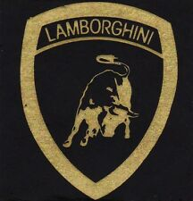 Small Lamborghini Square Sticker