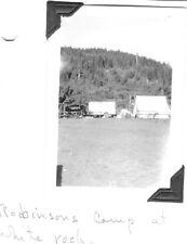 VINTAGE PHOTOGRAPH 1937-40 ROBINSONS CAMP WHITE ROCK NEVADA DOG OLD CAR PHOTO