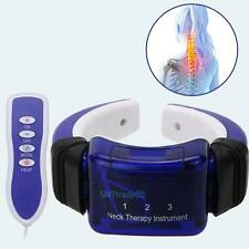 Electric Neck Care Acupuncture Meridian Therapy Massager Pain Relief Instrument