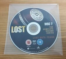LOST - Season 2 – Disc 7 - Lost Data Found - Region 2 Replacement DVD DISC ONLY