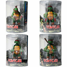 LAS TORTUGAS NINJA / TEENAGE MUTANT NINJA TURTLES - SET 4 NECA FIGURES BLISTER