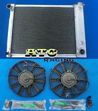 3 ROW ALUMINUM RADIATOR for 1967-1969 CHEVY CAMARO/FIREBIRD 5.3L-5.7L V8 + 2 FAN
