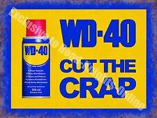 WD-40 Vintage Garage Advertising Oil Car Bike Shed Wall Large Metal/Tin Sign