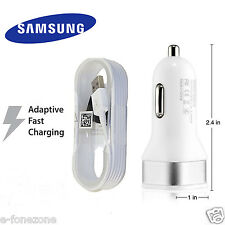 Genuine Fast Car Charger Cable + 5V 2A For Samsung Galaxy S6 S6Edge S6Edge Plus