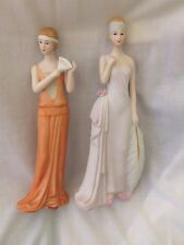 Collectable Porcelain Lady Figurines