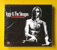 Iggy Pop & The Stooges Search And Destroy 2-CD NEW SEALED Studio Cuts/Live In LA