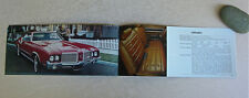 1972 Oldsmobile Brochure -Near Mint