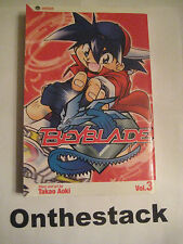 MANGA:    Beyblade Vol. 3 by Takao Aoki (2005, Paperback) In new condition!