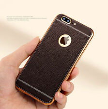 For iPhone 7 Plus Luxury Slim Ultra-Thin PU Leather Soft Phone Case Co